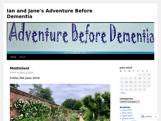 Ian and Jane's Adventure Before Dementia